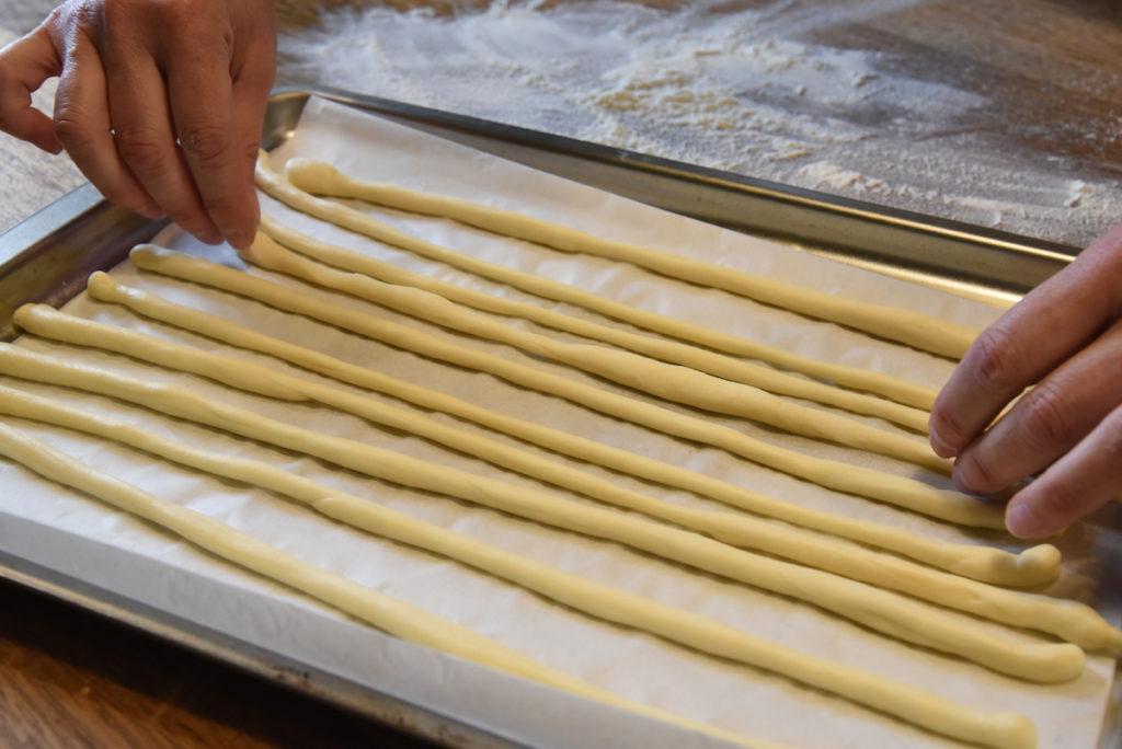 Gressins crus - La Table à Rallonges